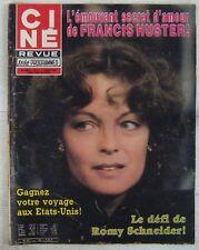 Romy Schneider Revue Ciné Revue n° 11 Février 1982