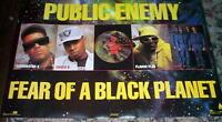 PUBLIC ENEMY Fear of Black Planet Vintage Group POSTER