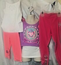 Garanimals Mixed Lot Apparel Girls Size 5 Or 5T Tops Capris Pants 5pc