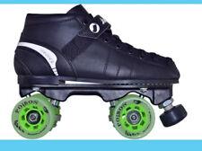Jackson VIP Derby Quad Roller Speed Skates JR1200 Poison Wheels Viper Plate Sz 5