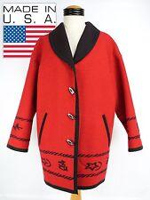 Vintage Pendleton Knockabouts Cowboy Wool Cotton Blend Western Coat Medium