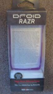 Droid Razr High Silicone Cover  NIP