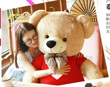 63'' Giant Big Huge Stuffed USA Teddy Bear plush Soft Toys doll gift + sweater