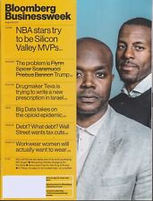 BLOOMBERG BUSINESSWEEK MAG AUGUST 28 2017-NBA STARS TRY TO BE SILICON VALLEY...