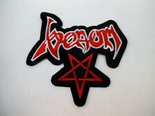 "VENOM 4"" Iron On Embroidered Patch Speed Thrash Black Heavy Metal GOTH Punk"