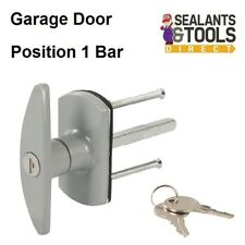 Replacement Garage Door Lock T Handle Diamond or Square spindle alignment