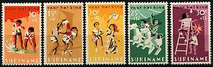 Suriname 1966 SG#598-602 Child Welfare MNH Set #D34414