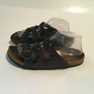 Birkenstocks Woman's Sandals Black Size 37 Rough
