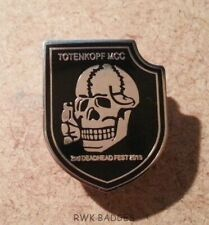 TOTENKOPF MCC - 2015 2nd DEADHEAD FEST RARE ENAMEL BADGE