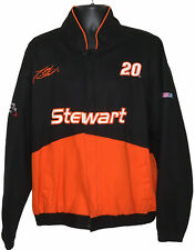VTG Tony Stewart Mens XL Winston Cup Series Home Depot Zip Up Racing Jacket