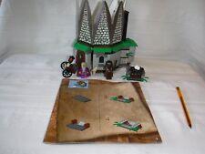 Lego Harry Potter hagrids choza 4707 2001 con Dumbledore y Hagrid + +
