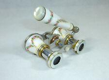 Unicum RARE Binoculars/Theater Glass Um 1900 FRANCE GUILLOCHE ENAMEL