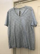 BNWT INC International Concepts Mens Large L Blue Glow Shirt Fashion Macys