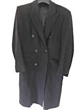 SAVOY TAYLORS's homme laine cashemire double boutonnage bleu marine manteau, taille 40