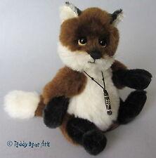 Charlie Bears TOWNEND FOX - MINIMO Alpaca and Mohair Bear MM645304 ref 507