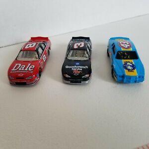 2000 NASCAR Hasbro Die Cast Cars Monte Earnhardt, Earnhardt Jr. & Petty Lot of 3