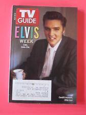 elvis presley TV GUIDE  may 8 - 14, 2005 1956 PHOTO