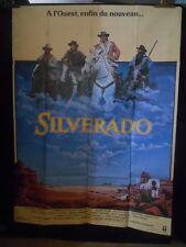 AFFICHE originale grand format ( 120 x 160 ) .SILVERADO -1985 .