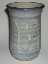 Studio Scottish Stoneware Pottery - Anna Wenna Crockatt - Abstract Vase - Rare.