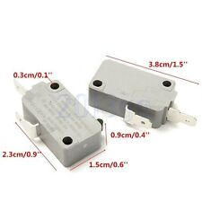 2Pcs Microwave Oven KW3A Door Micro Switch Normally Open for DR52 125V/250V YG