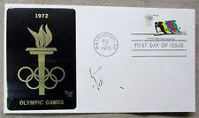 Lord Killanin {1914-1999} IOC Pres Olympics Signed 1972 Sapporo Games FDC COA
