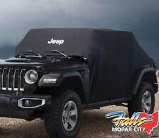 2018-2020 Jeep Wrangler JL Black Vehicle Cover New Mopar OEM
