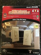 heath zenith wireless command Indoor 3-way Wall Switch
