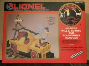 Lionel 8-87208 G Wile E. Coyote and Roadrunner Handcar