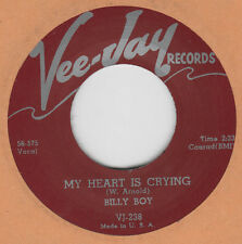 R&B REPRO: BILLY BOY - MY HEART IS CRYING/ KISSING AT MIDNIGHT  VEE JAY