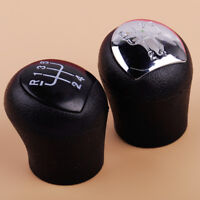 5 Speed Gear Stick Shift Knob Plastic Fit for RENAULT CLIO MK2 172 182 RS black