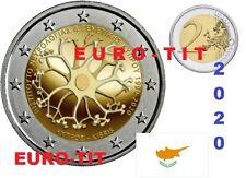 2 €  CHYPRE  COMMEMORATIVE  1  X  PIECE    2020    NOUVEAU  RARE  /   2020  2020
