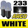 2 x 233 BA9S T4W Xenon Led Blanco Bombillas intermitente lateral