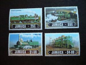 Stamps - Jamaica - Scott# 608-611