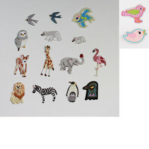 Small Animal  Iron On Embroidered Iron on Sew on Patches motifs