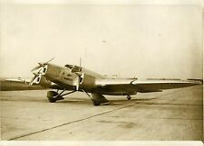 """Avion COUZINET (BIARRITZ) 1932"" Photo originale G. DEVRED (Agce ROL)"