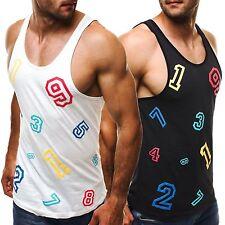 Herren-Unterhemden aus Baumwolle für Fitness
