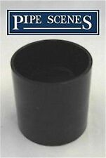 Solvent Weld Straight Coupling Joint - Waste Water Glue Fit Cement Fitting 55mm