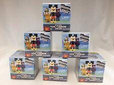 Disney Series 1 Crossy Road Mini Figure Mystery Packs Lot of 6