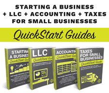 Mega Small Biz Book Bundle - 4 Bestselling Entrepreneurial QuickStart Guides