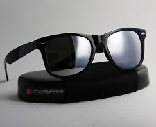 Wayfare mirror sunglasses New black frame style with mirrored ' lens men women