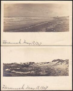 Westport, MA (2) Und/B RPPC 1907 - Rare Postcards of Horseneck Beach