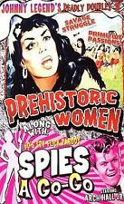 Johnny Legend's Deadly Doubles Vol. 3: Prehistoric Women / Spies-A-Go-Go, New DV