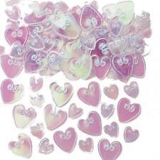 Coriandoli metallici marca Amscan per feste e party san valentino