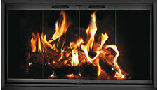 Black Fireplace Glass Doors for Martin fireplace MT41
