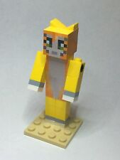 Lego Custom - Stampy Long Nose - Stampy Cat - a minecraft inspired figure