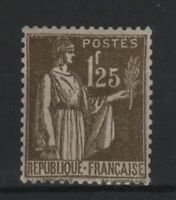 """FRANCE STAMP TIMBRE N° 287 """" TYPE PAIX 1F25 OLIVE """" NEUF xx TTB  R827"""