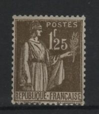 "FRANCE STAMP TIMBRE N° 287 "" TYPE PAIX 1F25 OLIVE "" NEUF xx TTB  R827"
