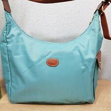 Longchamp Hobo Bag Wickeltasche crossbody mint