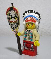 Indian Chief Headdress Cowboys 6746 6766 6763 6709 Western Lego Minifigure Mini