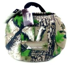 Ozark Trail Camo Padded Ground Cushion Seat With Pocket - Outdoor Equipment NEW